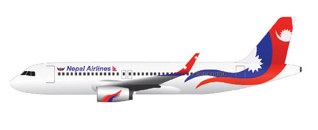 Nepal Airlines (Nepal Airlines). Official sayt.1