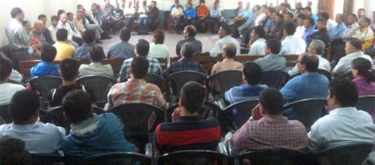 उपत्यकाका मण्डलीहरूको प्रार्थना सभा