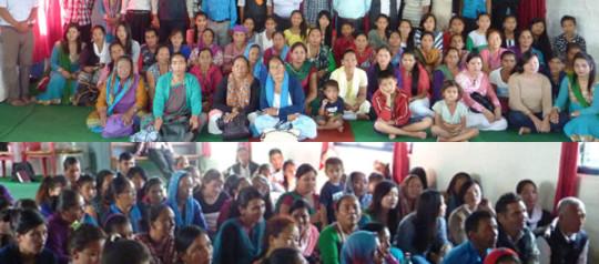 नेपाल ख्रीष्टिय तालचोक चर्चमा संगति र भेला