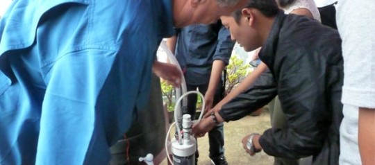 पिउने पानी शुद्ध बनाउने तालिमको उद्घाटन