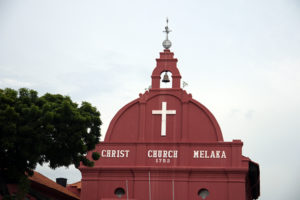 Christ Church Melacca; founded in 1753